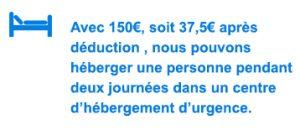 Prélèvement à la source, Hébergement d'urgence, Association Humanitaire Colmar, Alsace, association